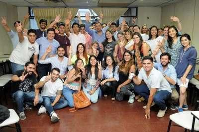 Importante encuentro entre Miguel Isa y los jóvenes de Salta