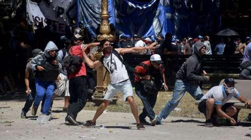 """La CGT repudió la violencia de grupos """"radicalizados"""" y """"provocadores"""""""