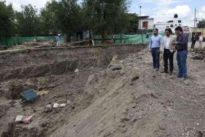 """Sáenz: """"Estamos trabajando para que los vecinos dejen de inundarse"""""""