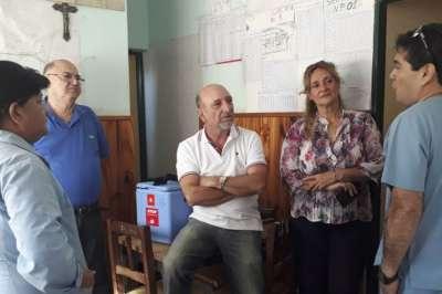 El Ministro de Salud verifica en el norte la asistencia sanitaria a los afectados