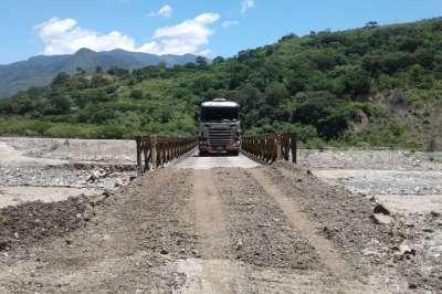 Se habilitó el tránsito para todo rodado en el puente de Los Toldos