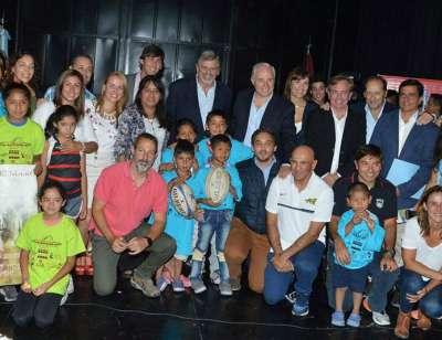 Convocan a voluntarios para el programa Rugby en los barrios