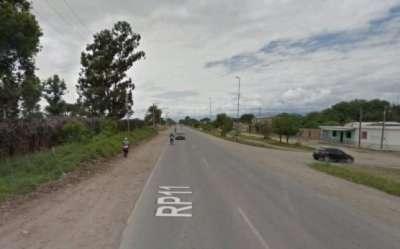 Choco a motociclista en Güemes y fue detenido en Campo Santo