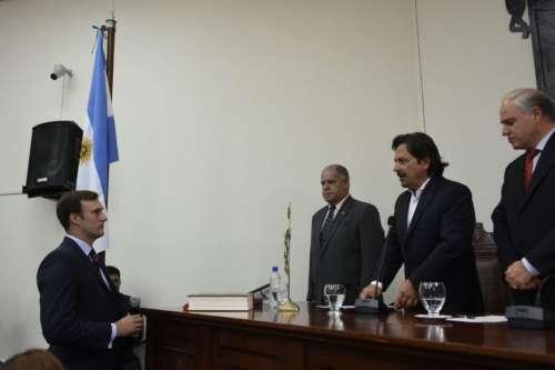 Asumió López Mirau en el Tribunal Administrativo de Faltas