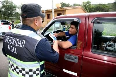 En el primer día de Serenata se controlaron 2 mil vehículos