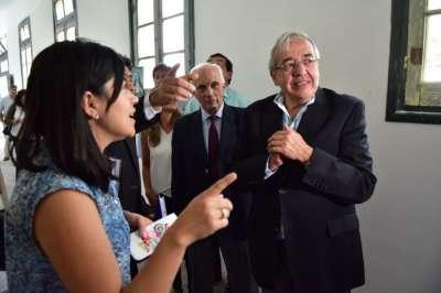 Diputados recorrieron las obras del polo integral de mujeres