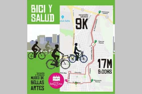 """El 17 de marzo se desarrollará la pedaleada bici-turística """"Bici y Salud"""""""