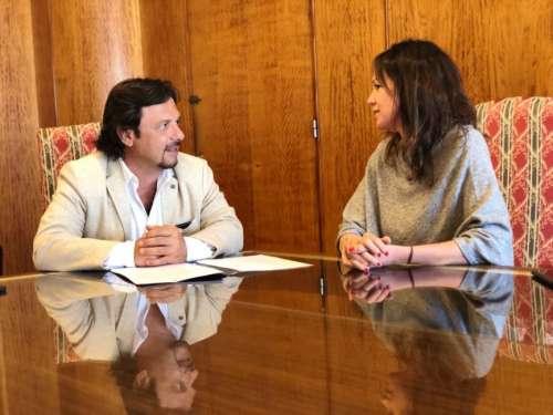 """Sáenz: """"Hemos conseguido una nueva planta hormigonera para el municipio"""""""