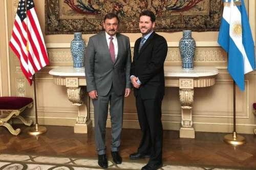 En la Embajada de EEUU, Isa evaluó proyectos de inversión para Salta