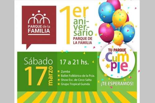 Mañana el Parque de la Familia celebrará su primer aniversario