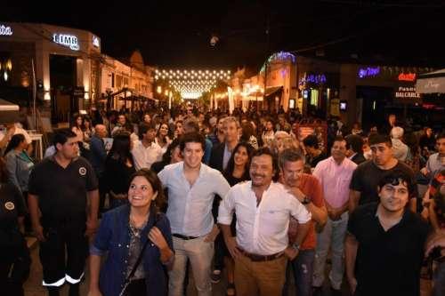 """Sáenz: """"La Balcarce recuperó su espíritu y es disfrutada por salteños y turistas"""""""