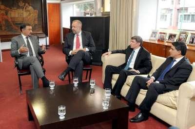 El vicegobernador Isa recibió a directivos de la aerolínea panameña Copa Airlines