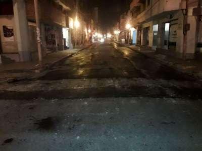 Siguen los trabajos nocturnos en calles del micro y macrocentro