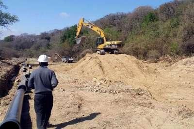 Está en la etapa final la construcción del nuevo acueducto de Vaqueros