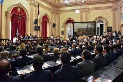 Discurso del Gobernador Urtubey ante la Asamblea Legislativa