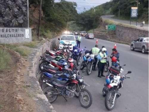 Preocupante: Tránsito retuvo más de 100 motos por alcoholemia positiva