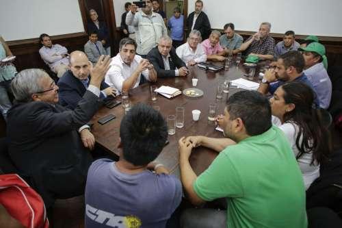 Expropiación: gremialistas de El Tabacal y San Isidro en Diputados