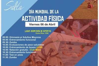 Hoy: actividades por el Día Mundial de la Actividad Física