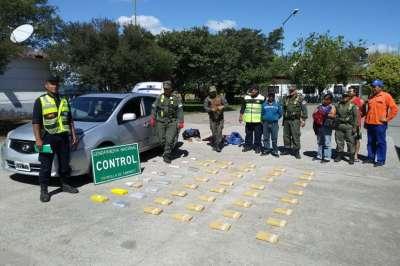 Exitoso operativo interfuerza: detuvieron a narcotraficantes con merca