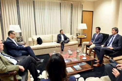 El Gobernador Urtubey se reunió con el nuevo titular de la AFIP