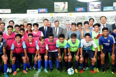 El vicegobernador Isa recibió a una comitiva de la provincia china de Shanxi