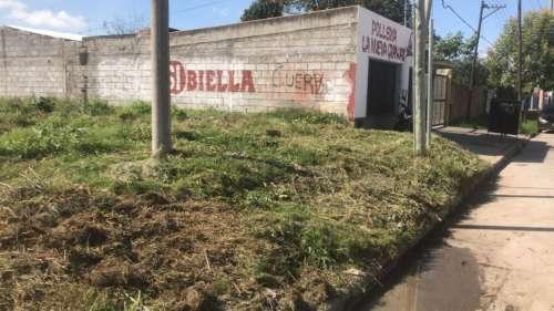 Se retiró un microbasural de grandes dimensiones en barrio El Tribuno