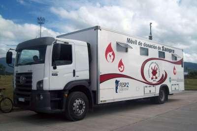 Nueva colecta de sangre en el hospital público Materno Infantil