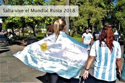 Los salteños disfrutaran los partidos del Mundial en pantalla gigante