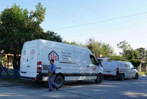 Cooperadora ayudó a familias afectadas por las condiciones climáticas