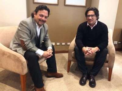 El intendente Sáenz se reunió con el ministro de Justicia de la Nación, Garavano