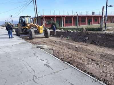 La Municipalidad avanza con la pavimentación en calles de la ciudad