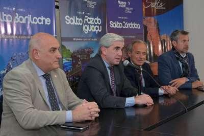 Andes Líneas Aéreas presentó sus nuevas rutas para el invierno