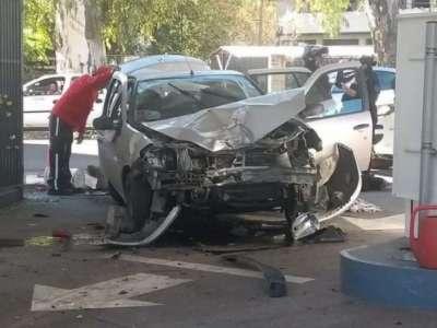 Siniestro en la Shell: Continúa detenido el conductor del auto