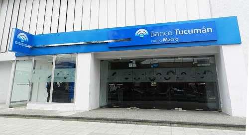 Tucumán le vende las acciones de Banco Tucumán a Macro