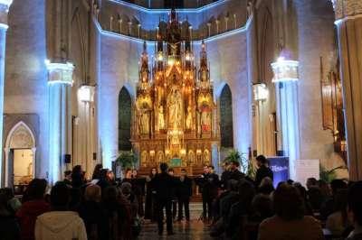 """Salteños y turistas disfrutaron de """"Música por el Camino de la Fe"""""""
