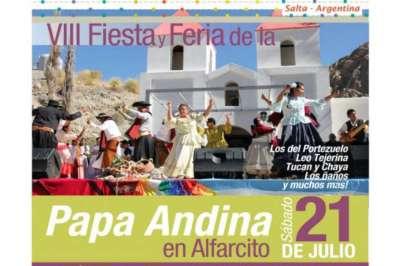 Mañana se lanzará la Fiesta y Feria de la Papa Andina en Salta