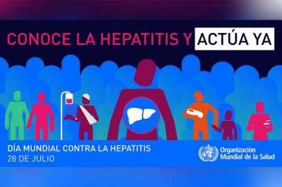 Todos listo para el 28 de Julio, Día Mundial contra las Hepatitis Virales